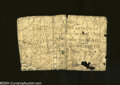 Colonial Notes:North Carolina, North Carolina December, 1771 1s Poor.Pinned, torn apart ...