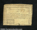 Colonial Notes:North Carolina, North Carolina $1/2 August 8, 1778 Fine-Very Fine. A ...