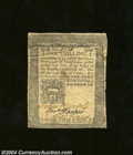 Colonial Notes:Pennsylvania, Pennsylvania October 25, 1775 1s Very Fine. There are no ...