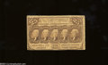 Fractional Currency:First Issue, Fr. 1281 25c First Issue Very Good-Fine.Heavily circulated ...