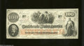 Confederate Notes:1862 Issues, T41 $100 1862. This Scroll 2 variety is printed on CSA ...