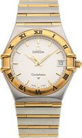 Timepieces:Wristwatch, Omega, Steel & Gold Constellation With Date, circa 2011. ...