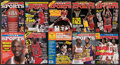 """Basketball Collectibles:Publications, 1986-98 Michael Jordan """"Inside Sports"""" Magazines Lot of 24...."""