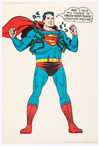 Superman Poster (G. & F. Posters/DC, 1966)