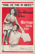 """Movie Posters:Foreign, Marriage Italian-Style & Other Lot (Embassy, 1964). Folded, Overall: Fine/Very Fine. One Sheets (2) (27"""" X 41""""). Foreign.. ... (Total: 2 Items)"""