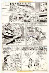 Curt Swan and Frank Chiaramonte Superman #329 Story Page 8 Original Art (DC, 1978)