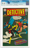 Silver Age (1956-1969):Superhero, Detective Comics #369 (DC, 1967) CGC NM 9.4 Off-white to white pages....