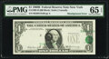 Major Shifted Third Printing Error Fr. 1905-B $1 1969B Federal Reserve Note. PMG Gem Uncirculated 65 EPQ