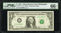 Small Size:Federal Reserve Notes, Fr. 1911-C* $1 1981 Federal Reserve Star Note. PMG Gem Uncirculated 66 EPQ.. ...