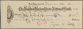 Autographs:Checks, 1931 Ty Cobb Signed Check. ...