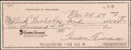 Autographs:Checks, 1989 Ted Williams Signed Check. ...