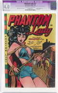Golden Age (1938-1955):Superhero, Phantom Lady #17 (Fox Features Syndicate, 1948) CGC Apparent VG 4.0 Slight/Moderate (B-2) Off-white to white pages....