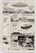 Original Comic Art, Curt Swan and Dave Hunt Superman #417 Story Page 2 Original Art (DC, 1986)....