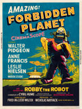 "Movie Posters:Science Fiction, Forbidden Planet (MGM, 1956). Fine/Very Fine on Paper. Silk Screen Poster (30.25"" X 40"").. ..."