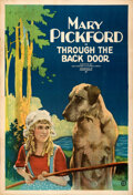 """Movie Posters:Drama, Through the Back Door (United Artists, 1921). Very Fine- on Paper. One Sheet (28"""" X 41"""").. ..."""
