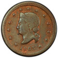 1863 Token Gerken & Ernst, Fuld-330B-2a, AU53 PCGS. Kenosha, WI. Copper, plain edge. Satiny copper-red luster gliste...