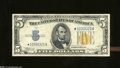 Small Size:World War II Emergency Notes, Fr. 2307* $5 1934-A North Africa Silver Certificate. Very ...