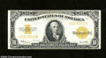 Large Size:Gold Certificates, Fr. 1173 $10 1922 Gold Certificate Very Fine. This bright $...