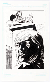 Charlie Adlard The Walking Dead #45 Story Page 20 Original Art (Image, 2007)