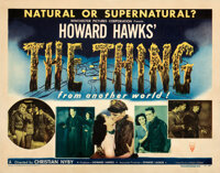 """The Thing from Another World (RKO, 1951). Folded, Fine. Half Sheet (22"""" X 28"""") Style A"""