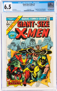 Giant-Size X-Men #1 (Marvel, 1975) CGC FN+ 6.5 Off-white pages