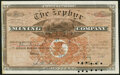 Miscellaneous:Other, Zephyr Mining Co Stock Certificate 300 Shares Jul. 17, 1882. About Uncirculated.. ...