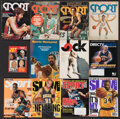 Basketball Collectibles:Publications, 1970's-2010's Magazines with Basketball Hall of Famers & Stars on Covers Lot of 42....