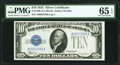 Small Size:Silver Certificates, Fr. 1700 $10 1933 Silver Certificate. PMG Gem Uncirculated 65 EPQ.. ...