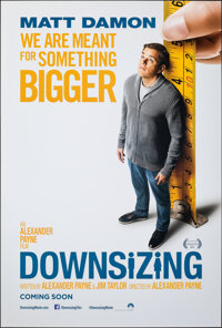 """Downsizing & Other Lot (Paramount, 2017). Rolled, Overall: Very Fine+. One Sheets (3) (27"""" X 40"""") DS Advan..."""