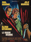 """Movie Posters:Hitchcock, Torn Curtain (Universal, 1966). Folded, Very Fine-. French Affiche (22.75"""" X 30.5""""). Hitchcock.. ..."""