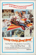 """Movie Posters:Fantasy, Chitty Chitty Bang Bang (United Artists, 1969). Folded, Very Fine-. One Sheet (27"""" X 40.75"""") Style B. Fantasy.. ..."""