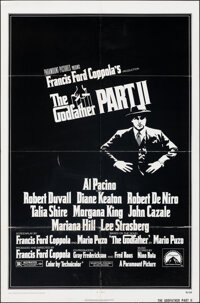 """The Godfather Part II (Paramount, 1974). Folded, Fine/Very Fine. One Sheet (27"""" X 41""""). Crime"""