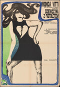 """Movie Posters:Foreign, Girl with a Pistol (CWF, 1970). Folded, Very Fine-. Polish Poster (22.5"""" X 32"""") Hanna Bodnar Artwork. Foreign.. ..."""