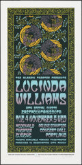Movie Posters:Rock and Roll, Lucinda Williams Presented by The Aladdin Theater (VooDoo Catbox, 2003). Rolled, Very Fine/Near Mint. Signed and Hand Number...