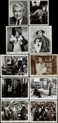 """Movie Posters:Miscellaneous, James Stewart Lot (1939 - 1978). Overall: Fine/Very Fine. Autographed Photo (8"""" X 10""""), Autographed Trade Ad (10.25"""" X 14""""),... (Total: 26 Items)"""