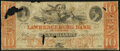Obsoletes By State:Tennessee, Lawrenceburg, TN- Lawrenceburg Bank of Tennessee $10 Opera Saloon Advertising Note Very Good.. ...