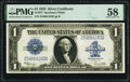 Fr. 237 $1 1923 Silver Certificate PMG Choice About Unc 58