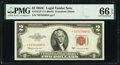 Fr. 1512* $2 1953C Legal Tender Star Note. PMG Gem Uncirculated 66 EPQ