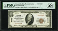 National Bank Notes:Pennsylvania, Connellsville, PA - $10 1929 Ty. 1 The Citizens National Bank Ch. # 6452 PMG Choice About Unc 58 EPQ.. ...
