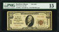 Rockford, IL - $10 1929 Ty. 1 The Forest City National Bank Ch. # 4325 PMG Choice Fine 15
