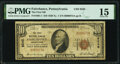 National Bank Notes:Pennsylvania, Fairchance, PA - $10 1929 Ty. 1 The First National Bank Ch. # 8245 PMG Choice Fine 15.. ...