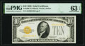 Fr. 2400 $10 1928 Gold Certificate. PMG Choice Uncirculated 63 EPQ