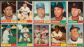 Baseball Cards:Lots, 1961 Topps Baseball Collection (232)....