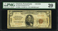 Charleroi, PA - $5 1929 Ty. 1 The National Bank of Charleroi & Trust Company Ch. # 13585 PMG Very Fine 20