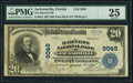 Jacksonville, FL - $20 1902 Plain Back Fr. 652 The Barnett National Bank Ch. # 9049 PMG Very Fine 25