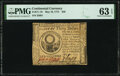 Colonial Notes:Continental Congress Issues, Continental Currency May 10, 1775 $30 PMG Choice Uncirculated 63 EPQ.. ...