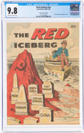 Golden Age (1938-1955):Miscellaneous, The Red Iceberg #nn Sacred Heart Variant (Catechetical Guild, 1960) CGC NM/MT 9.8 Off-white to white pages....