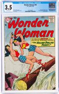 Silver Age (1956-1969):Superhero, Wonder Woman #98 (DC, 1958) CGC VG- 3.5 Off-white pages....