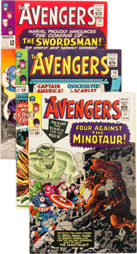 The Avengers #17-25 Group (Marvel, 1965-66) Condition: Average FN-.... (Total: 9 Items)