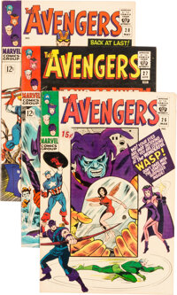 The Avengers #26-50 Group (Marvel, 1966-68) Condition: Average FN-.... (Total: 25 Comic Books)